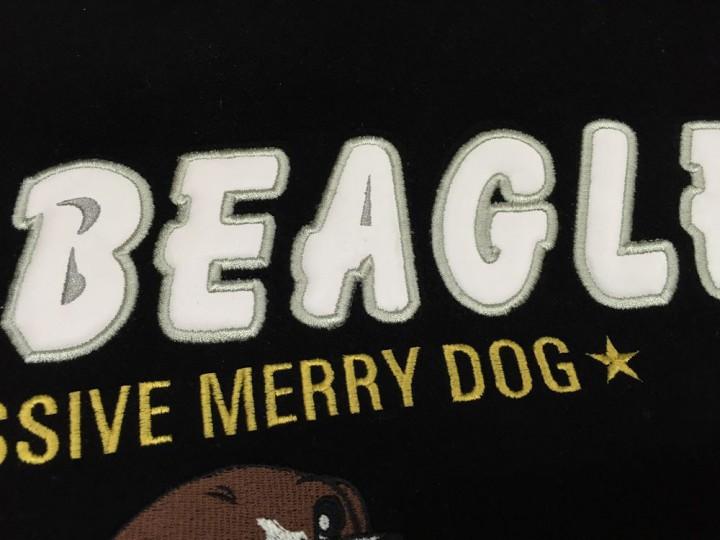 """再生文字アップ""""BEAGLE"""""""
